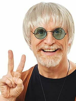 Costume Culture Dude Hippie Surf 60s Grey Wig Halloween Costume Accessory 21096](Costume Culture)
