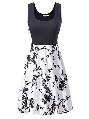 KIRA Midi Dress Women's Size Small Scoop Neck Sleeveless A-line Cocktail NEW