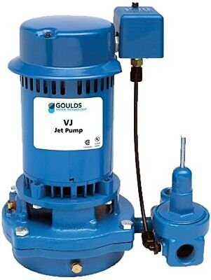 Goulds Vj10 1hp Deep Water Well Jet Pump 115230v Single Phase