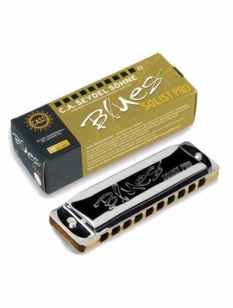 Seydel Blues Solist Pro Diatonic Harmonica in all keys, Free Shipping in the US!