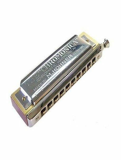 Hohner Chromonica 260 key of C 10 hole chromatic harmonica New