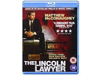 The Lincoln Lawyer Blu Ray - Very Good Condition