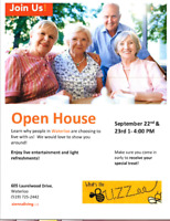 Court at Laurelwood Retirement Residence Open House