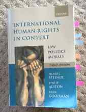 International Human Rights in Context, Law Politics Morals Wollstonecraft North Sydney Area Preview