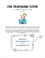 K-5 TUTOR (BCTF) - DO ERRANDS WHILE YOUR CHILD LEARNS