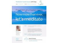 Masterclasses in Heartfulness Relaxation and Meditation 1st / 2nd / 3rd February on line