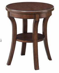 Accent Table Avenue six from Costco set Expresso Brown New