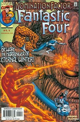 Domination Factor: Fantastic Four #1.1 - w/ Spider-Man - Near Mint