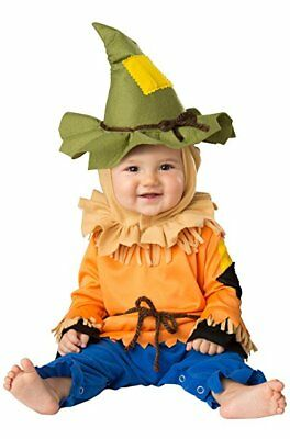 Incharacter Silly Scarecrow Wizard Of Oz Infant Baby Halloween Costume 16076 - Halloween Costume Scarecrow