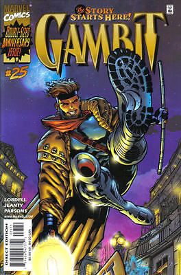 Gambit  25 Nm  Double Sized Last Issue  Direct Edition  Marvel Comics 2001