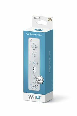 Nintendo Wii Remote Plus - White (Wii/Wii U) 100% Official Brand New Retail Pack