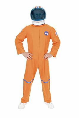 Charades Astronaut Flug Anzug Orange Übergröße Adult Halloween Kostüm - Übergröße Adult Kostüm