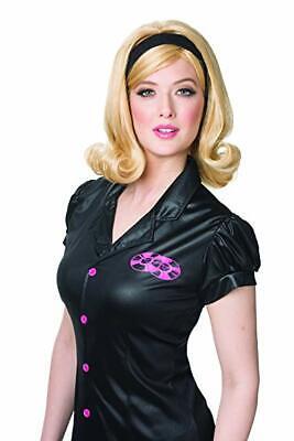 Costume Culture 60s Flip Blonde Hairspray Wig Halloween Costume Accessory 21095