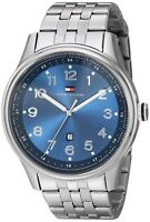New Tommy Hilfiger Men's Stainless Steel Blue watch (018313)