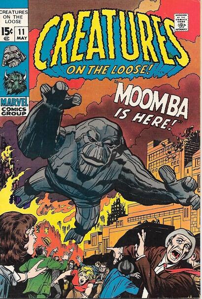Creatures On The Loose Comic Book #11, Marvel Comics 1971 FINE/FINE+