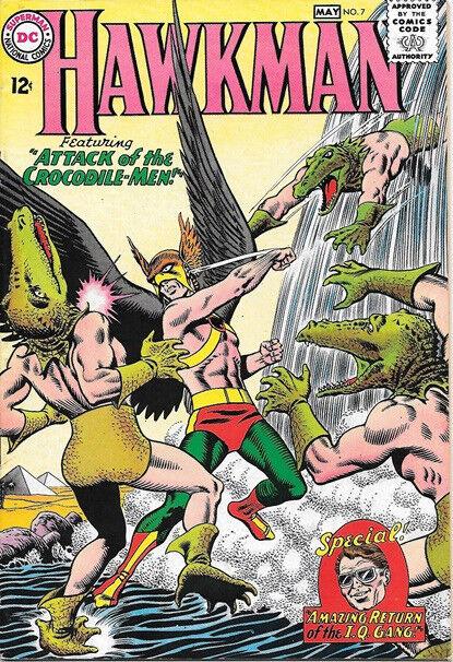 Hawkman Comic Book #7 DC Comics 1965 VERY FINE-