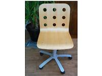 IKEA Jules Bentwood Computer Swivel Chair desk gas lift
