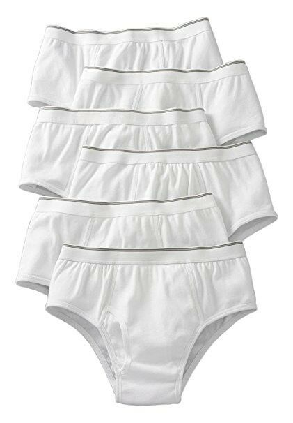 Kings' Court Men's Big & Tall Underwear 6 PACK Cotton Classic Briefs XL-9XL NIP