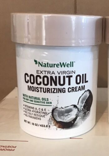Naturewell Extra Virgin Coconut Oil Moisturizing Cream, 16 o