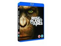 Rise of the Planet of the Apes Blu Ray - Excellent Condition