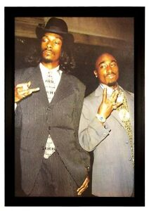 Snoop Dogg and Tupac Framed Poster