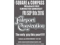 Fairport convention - Square and Compass ilminster!