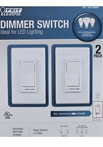 Feit Slide Dimmer Switch - 2 pack (NEW/SEALED)