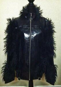 Steve-Summers-Pretty-Boy-Floyd-Lip-Service-fur-Jacket-size-Large