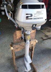 Honda 2hp outboard engine