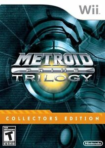 **New Metroid Prime Trilogy Collector's Edition** Original Owner