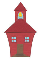 QuicKutz 4 x 4 School house metal cutting die - $10