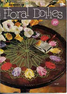 TULIP Doily PATTERNS Rose DAISY Petunia SWEET WILLIAM Floral DOILIES