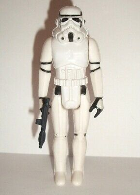 Vintage Star Wars Complete PBP Hard Torso Stormtrooper Figure - 1977 - C9+