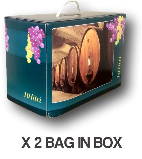 Vino Bianco Dry Bag In Box Lt.10 (2 Pz) - Vini Sfusi Sardegna - -  - ebay.it