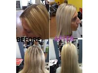 MODEL REQUIRED Highlight T-section £18, Half-head £25, Full head £45, Roots tint from £20