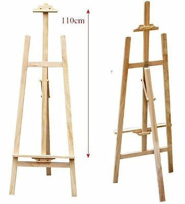 STUDIO EASEL 5ft (1500MM HIGH) ARTIST ART CRAFT DISPLAY WOODEN TRIPOD