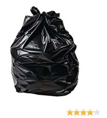 PBS33 Extra Heavy DUTY BLACK Bin Liner Rubbish Bag Waste Refuse SACK x 400
