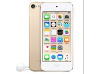 16gb iPod touch 6th gen gold
