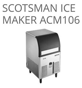 Scotsman Ice Machine- Brand New  *FREE DELIVERY Doncaster East Manningham Area Preview