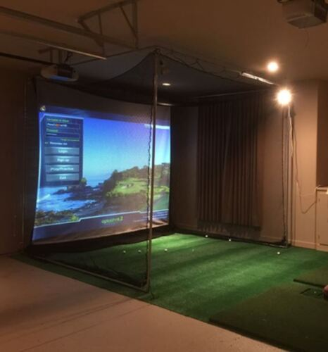 NEW Optishot 2  Golf Simulator System with New Epson Projector