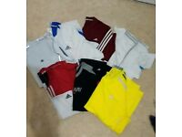 Adidas and Nike mens clothes bundle 10 items XL