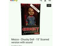 """Talking mezko chucky doll 15"""""""