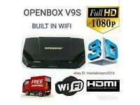 OPENBOX V9S SATELITE RECIEVER WITH 36 MOMTHS GIFT