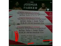 Anthony Joshua v Joseph Parker Tickets