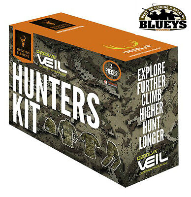 Hunters Element Fleece Hunting concealed Furnace 4 Piece clothing Camo pack kit