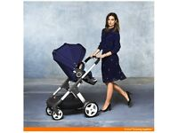 💎navy blue stokke crusi with extras💎