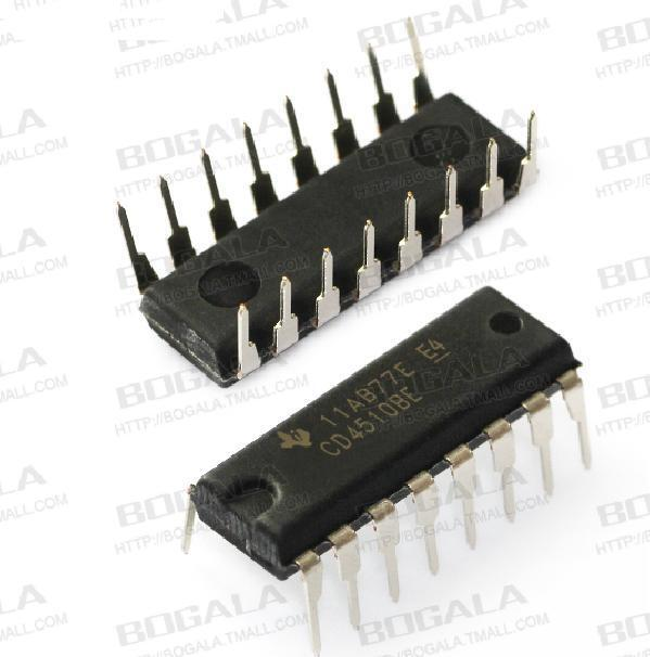 10PCS CD4510 CD4510BE CMOS PRESETTABLE UP/DOWN COUNTERS DIP NEW