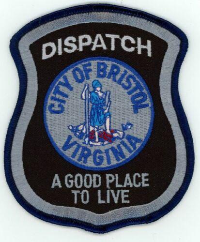 BRISTOL POLICE DISPATCH VIRGINIA VA NEW SHOULDER PATCH SHERIFF