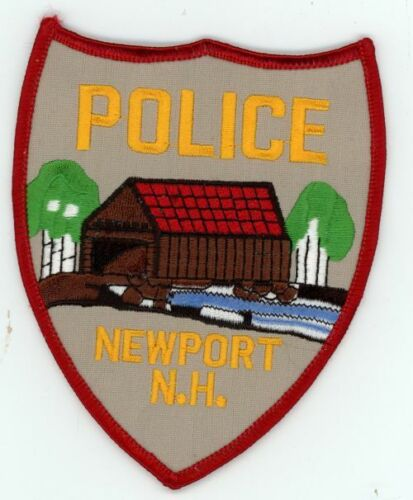 NEWPORT NEW HAMPSHIRE NH POLICE NICE COLORFUL PATCH SHERIFF