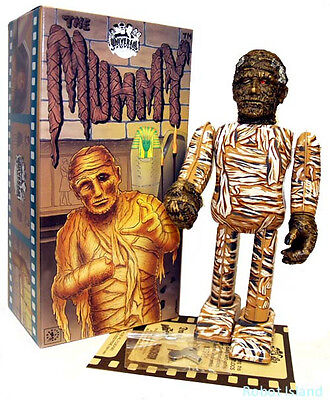 Universal Monsters The Mummy Robot Windup Japan Tin Toy - Mint and Boxed New!